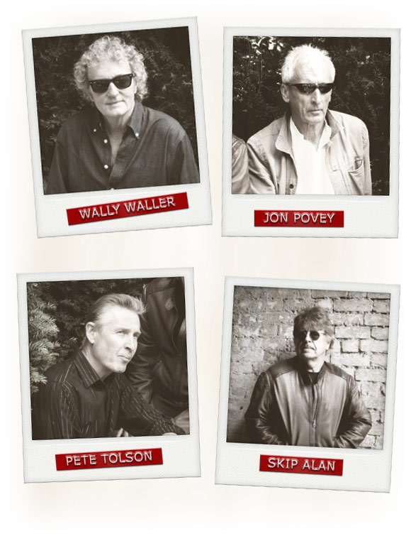 The Pretties - Wally Waller - Jon Povey - Pete Tolson - Skip Alan